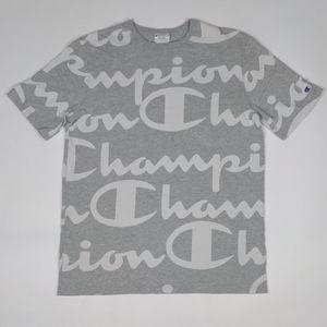 Champion Logo All Over Print ~ Heritage Edition